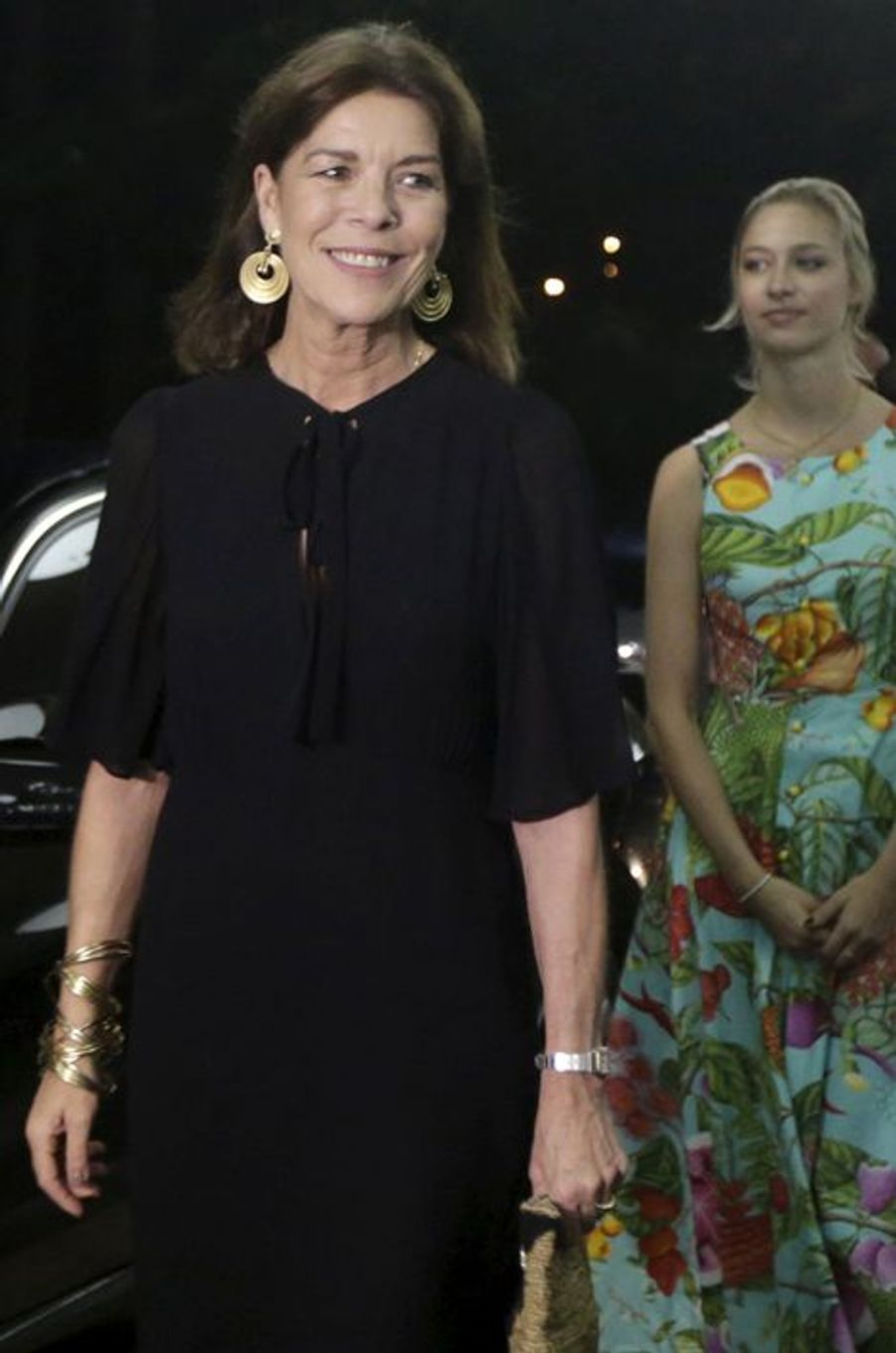 Caroline de Monaco avec Beatrice Borromeo à La Havane, le 30 octobre 2015