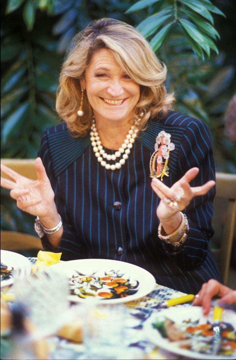 La comtesse Marta Marzotto en 1985