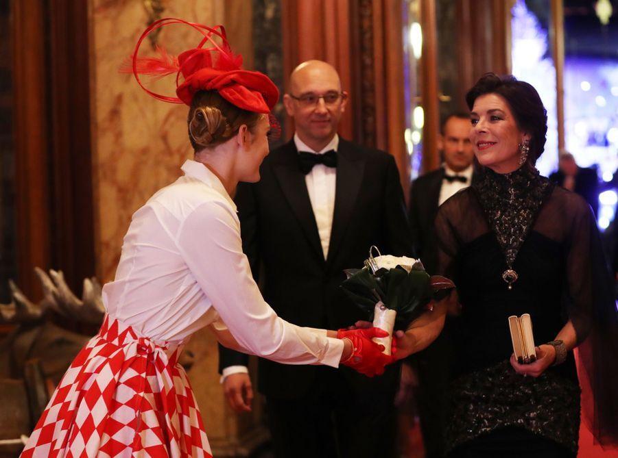 Au Dîner Surréaliste Avec Caroline De Monaco 6
