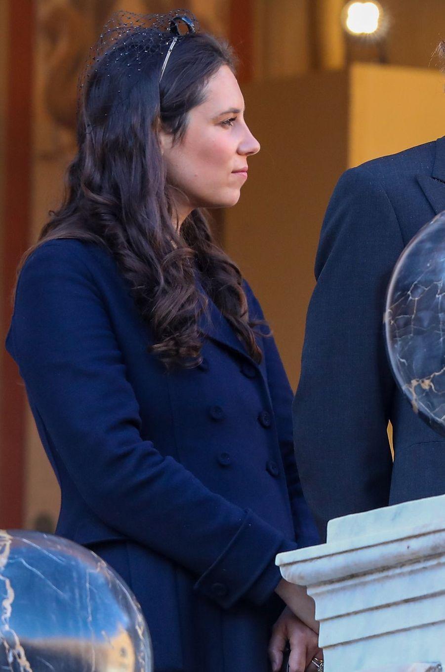 Tatiana Santo Domingo-Casiraghi à Monaco, le 19 novembre 2018