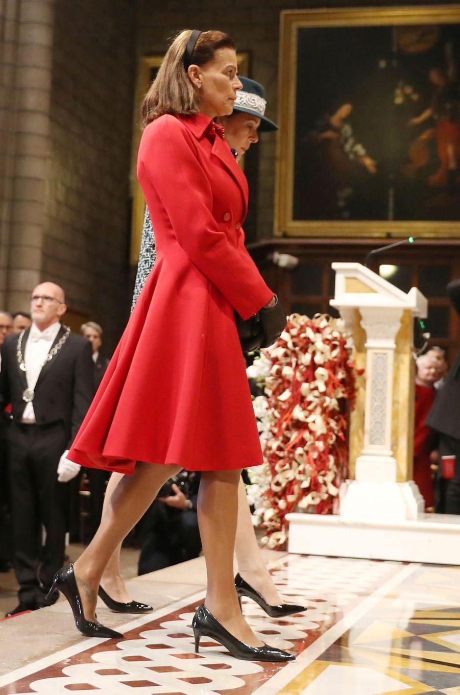 La princesse Stéphanie de Monaco à Monaco, le 19 novembre 2018