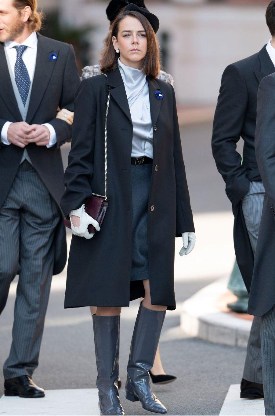 Pauline Ducruet à Monaco, le 19 novembre 2018