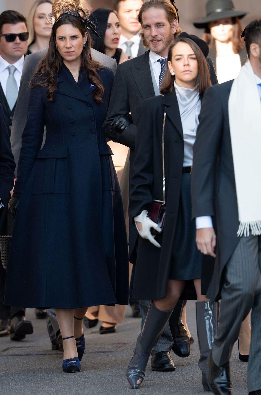 Tatiana Santo Domingo-Casiraghi et Pauline Ducruet à Monaco, le 19 novembre 2018