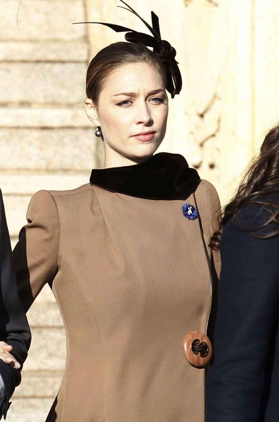 Beatrice Borromeo-Casiraghi à Monaco, le 19 novembre 2018