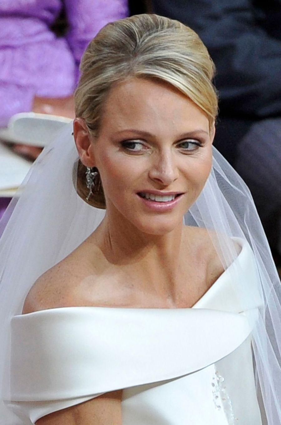 La princesse Charlène de Monaco, le 2 juillet 2011