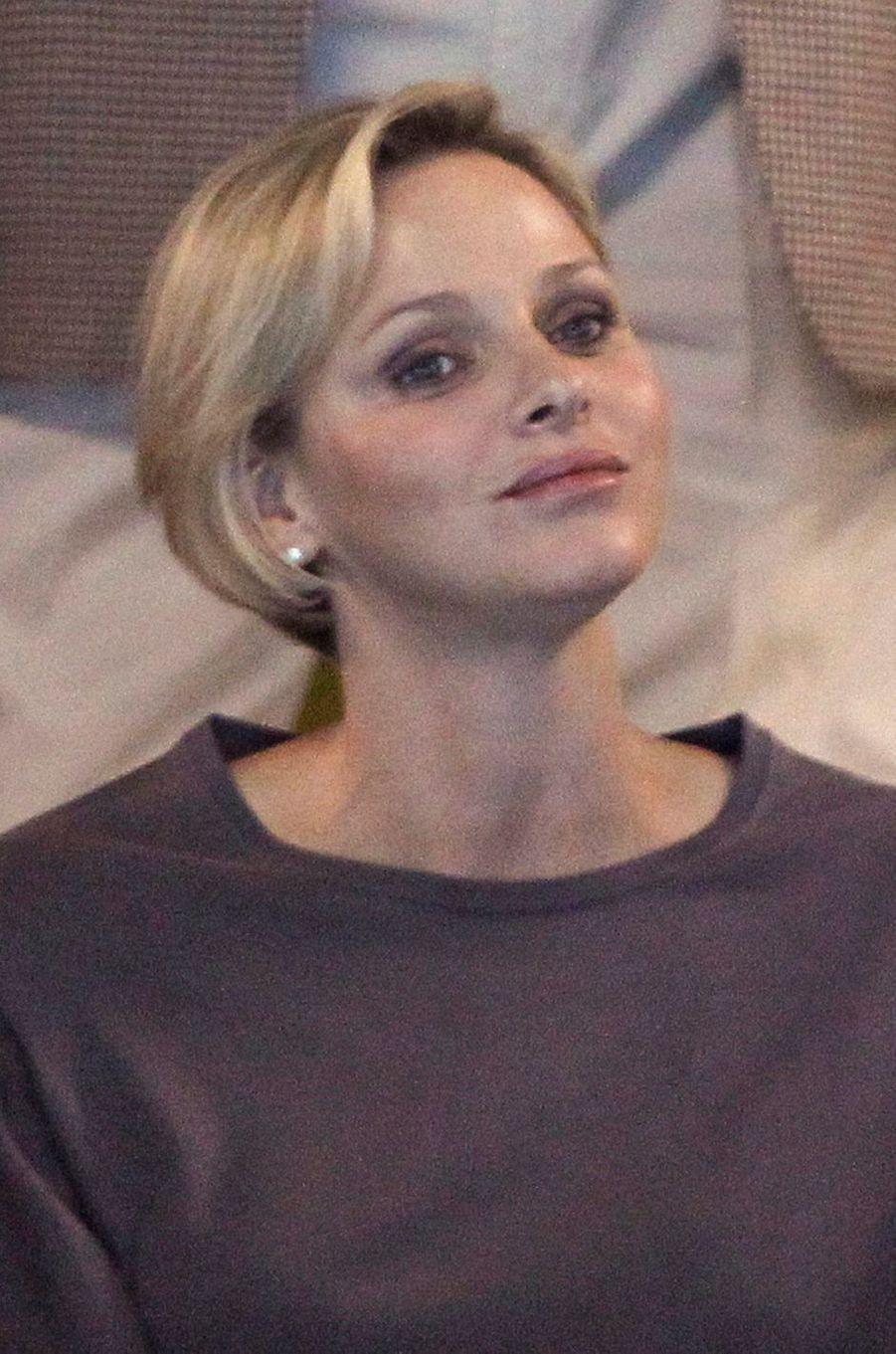 La princesse Charlène de Monaco, le 9 juin 2012