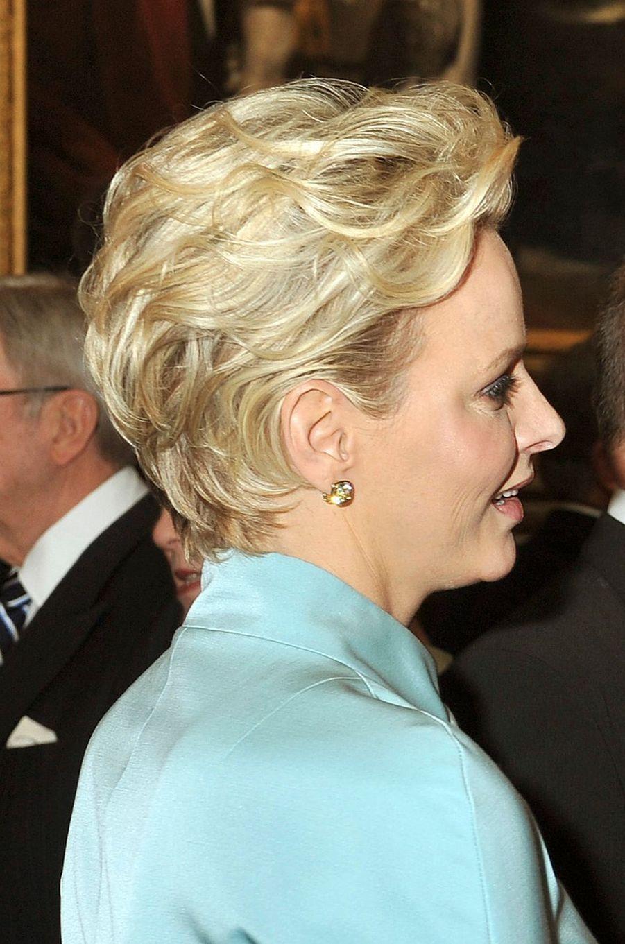 La princesse Charlène de Monaco, le 18 mai 2012