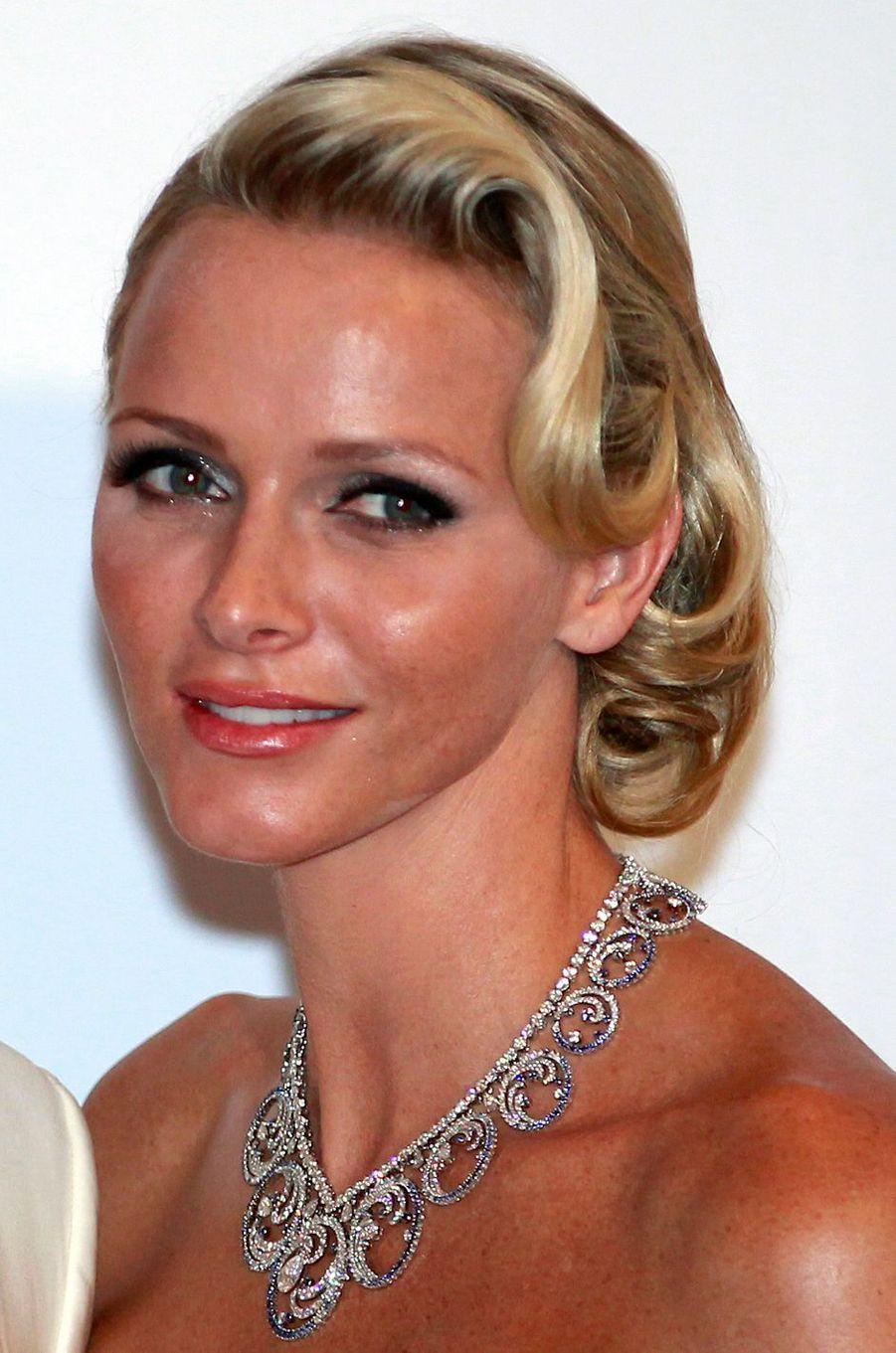 La princesse Charlène de Monaco, le 5 août 2011