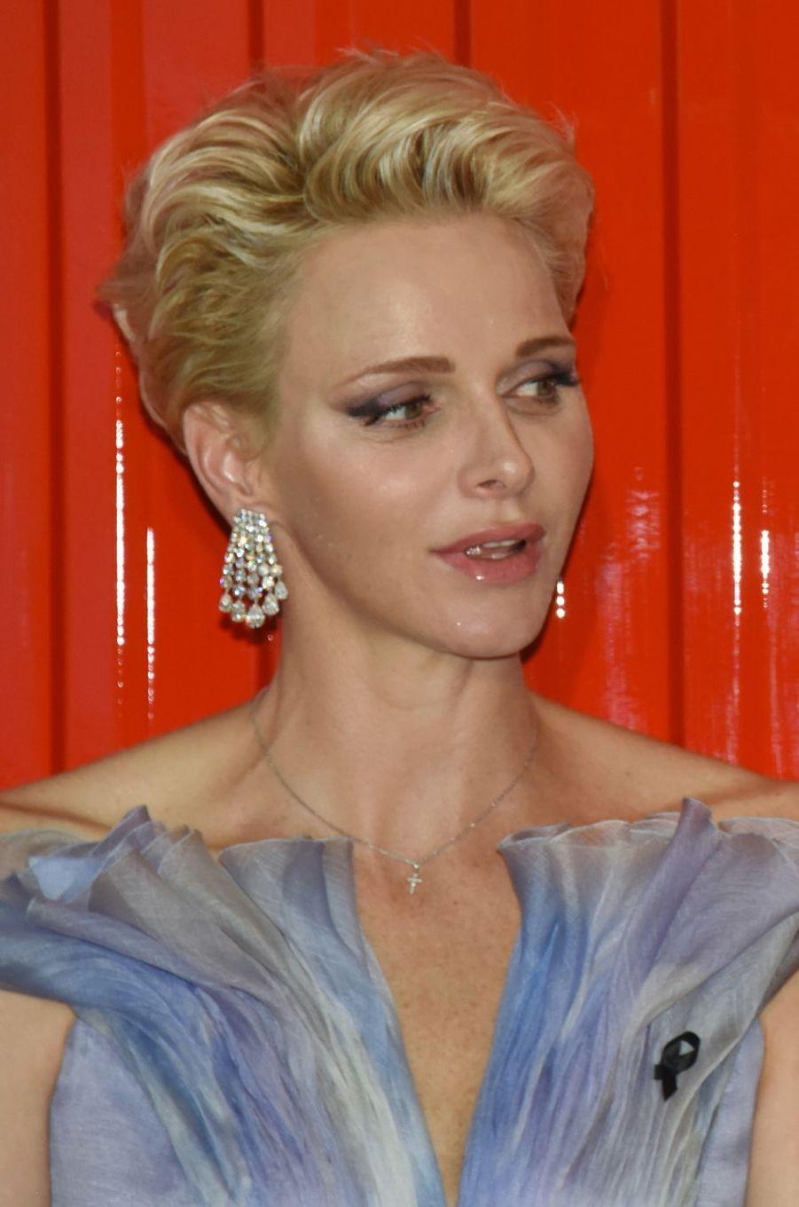 La princesse Charlène de Monaco, le 23 juillet 2016