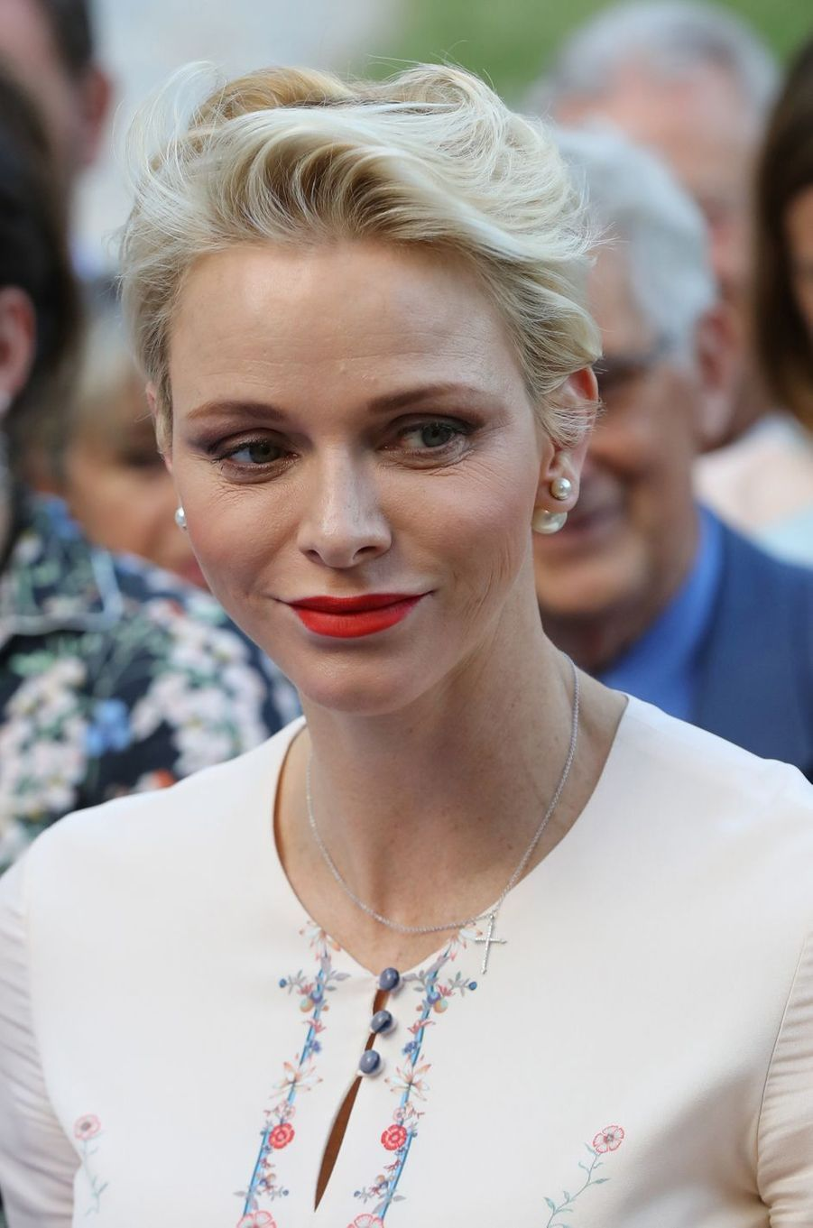 La princesse Charlène de Monaco, le 10 septembre 2016