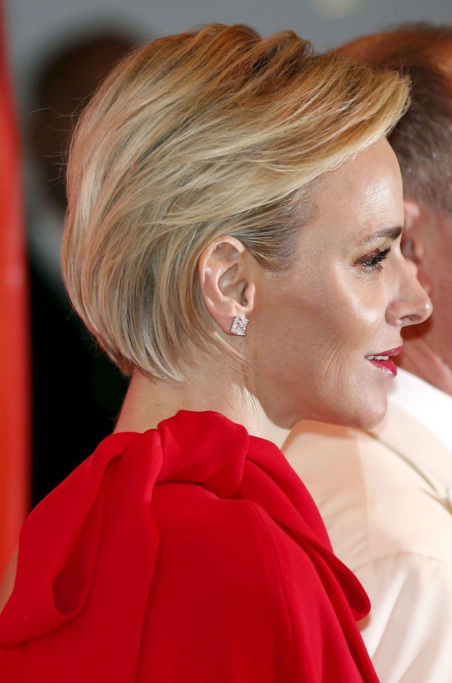 La princesse Charlène de Monaco, le 25 juillet 2015
