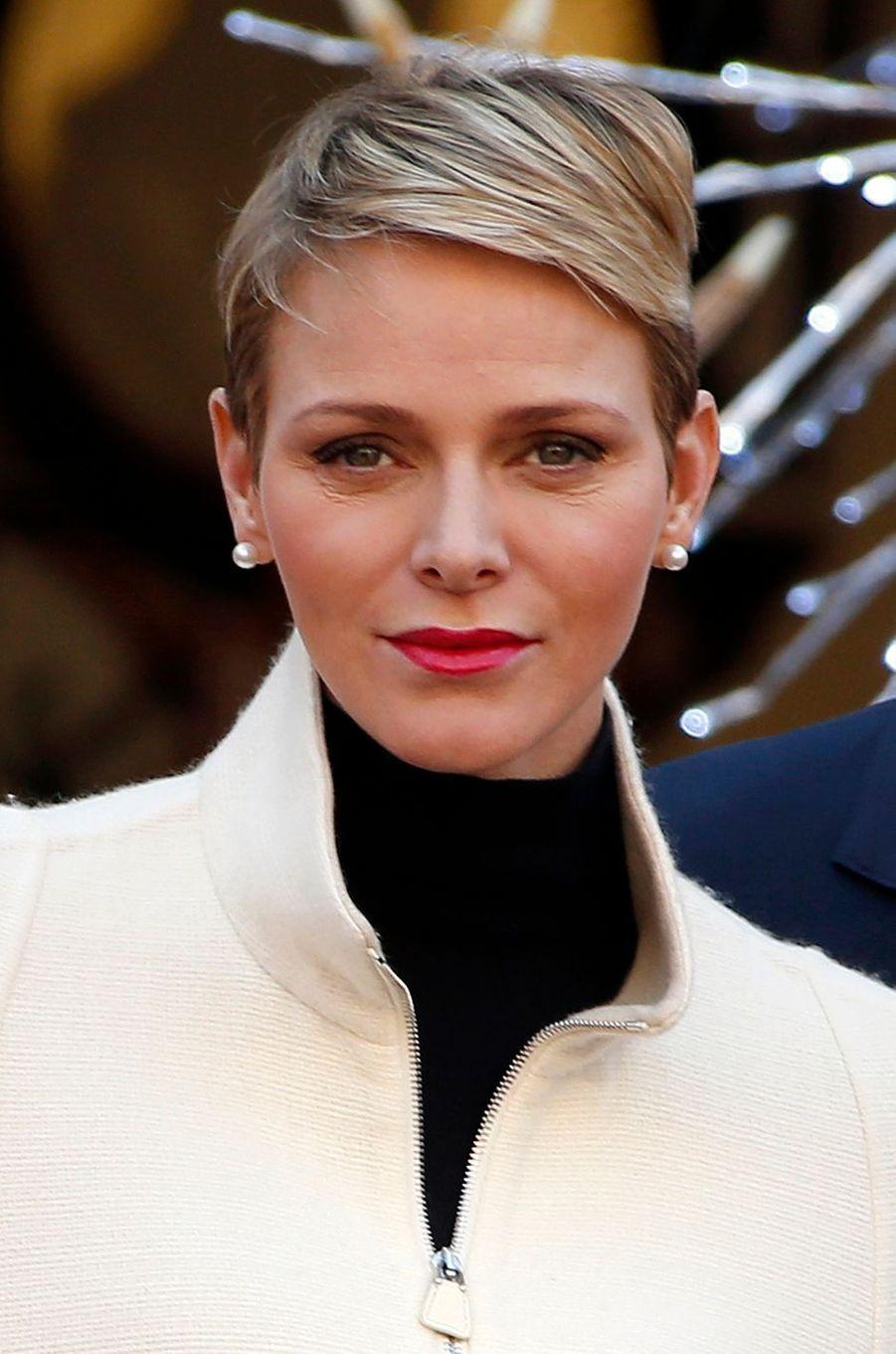 La princesse Charlène de Monaco, le 16 décembre 2015