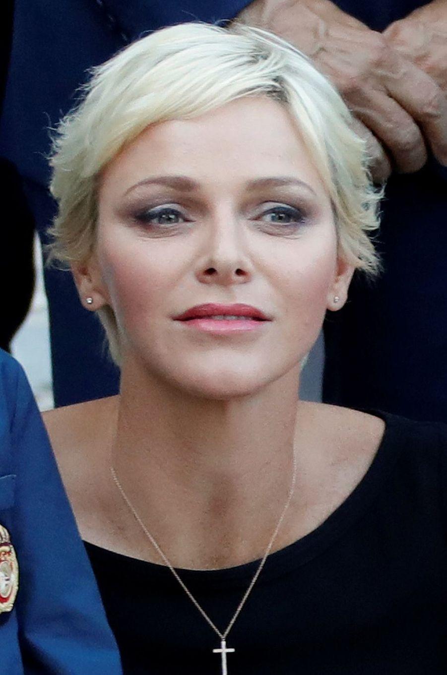 La princesse Charlène de Monaco, le 1er septembre 2017