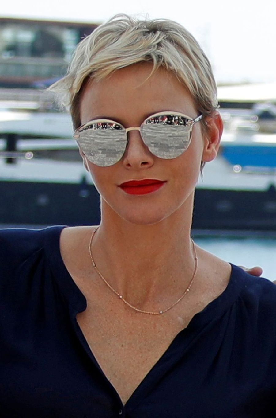 La princesse Charlène de Monaco, le 4 juin 2017