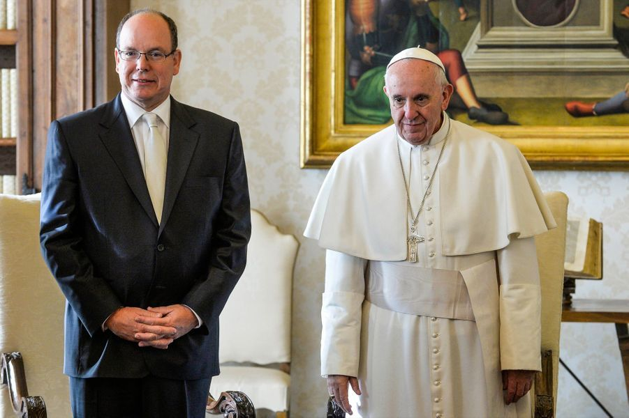 Le couple princier au Vatican