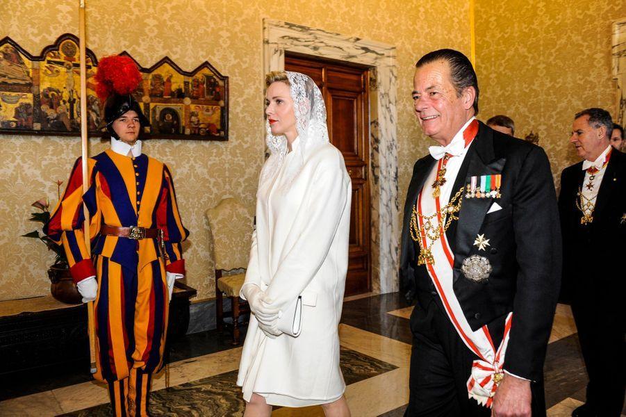 Le couple princier au Vatican