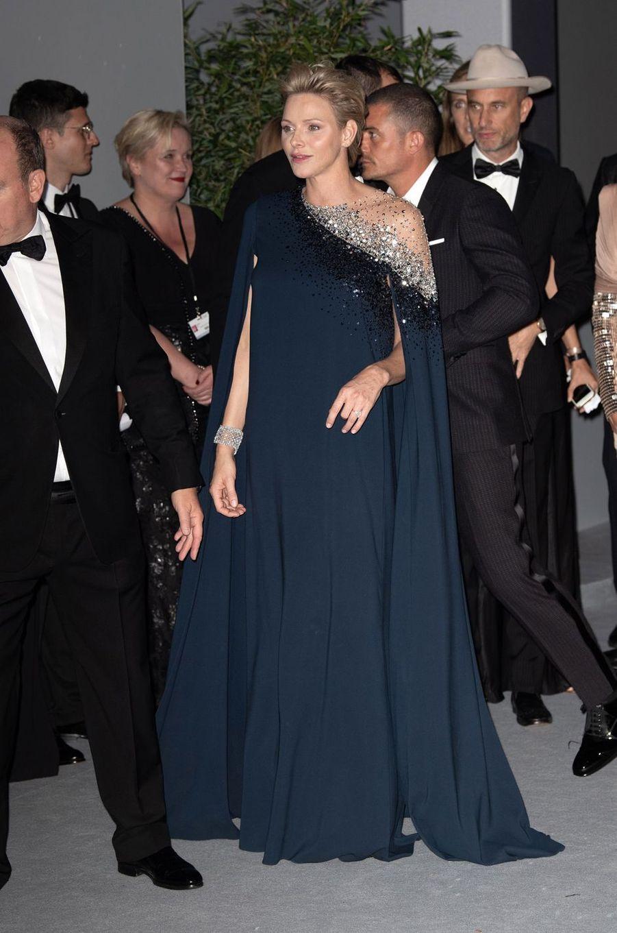 La princesse Charlène de Monaco à Monaco, le 26 septembre 2018