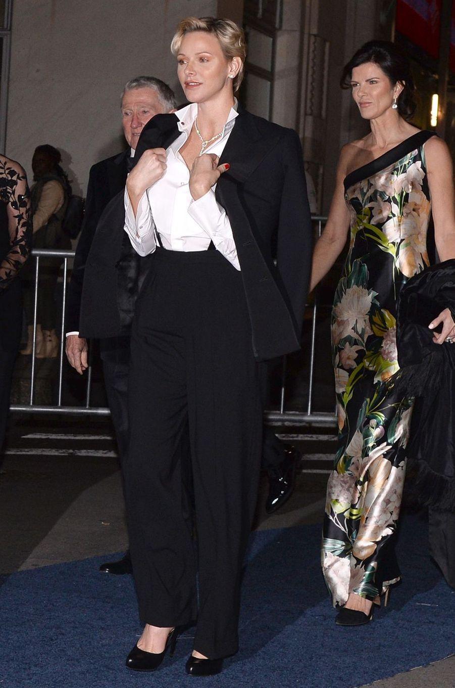 La princesse Charlène de Monaco, le 17 octobre 2018