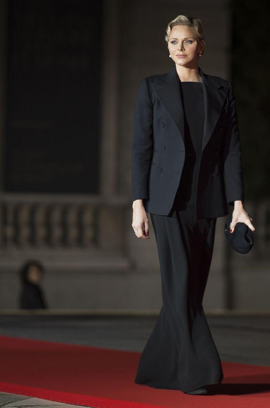 La princesse Charlène de Monaco, le 10 novembre 2018