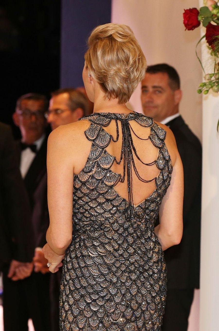 La princesse Charlène de Monaco, le 27 juillet 2018