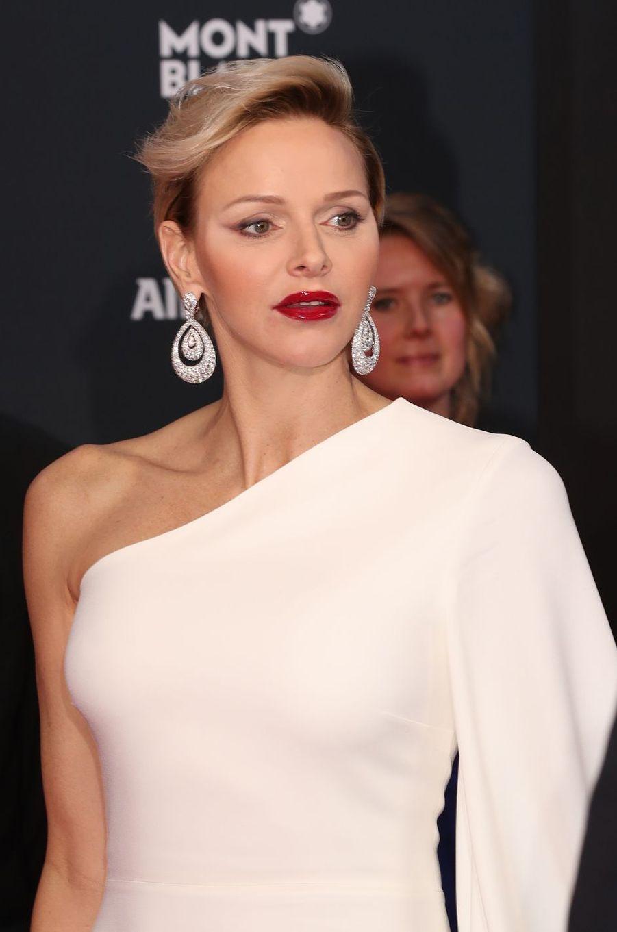La princesse Charlène de Monaco, le 22 février 2018