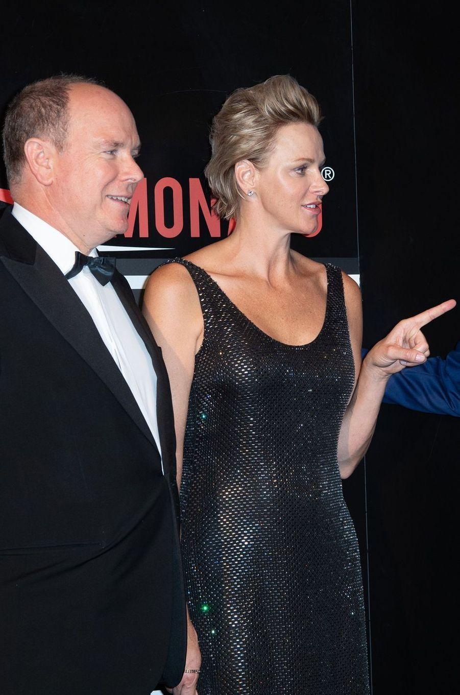 La princesse Charlène de Monaco, le 27 mai 2018