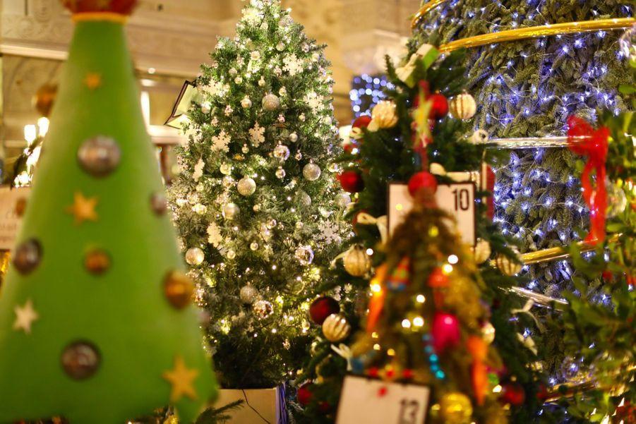 Le Prince Albert De Monaco Lors De La Traditionnelle Vente Aux Enchères De Sapins De Noël 2