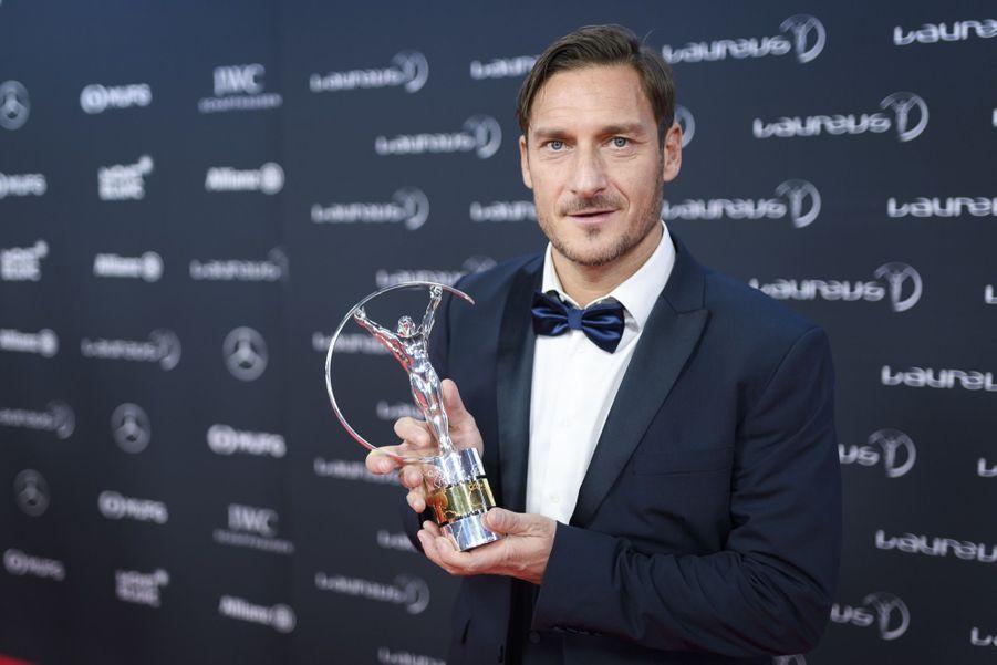 """Francesco Tottià la cérémonie des prix """"Laureus du sport"""""""