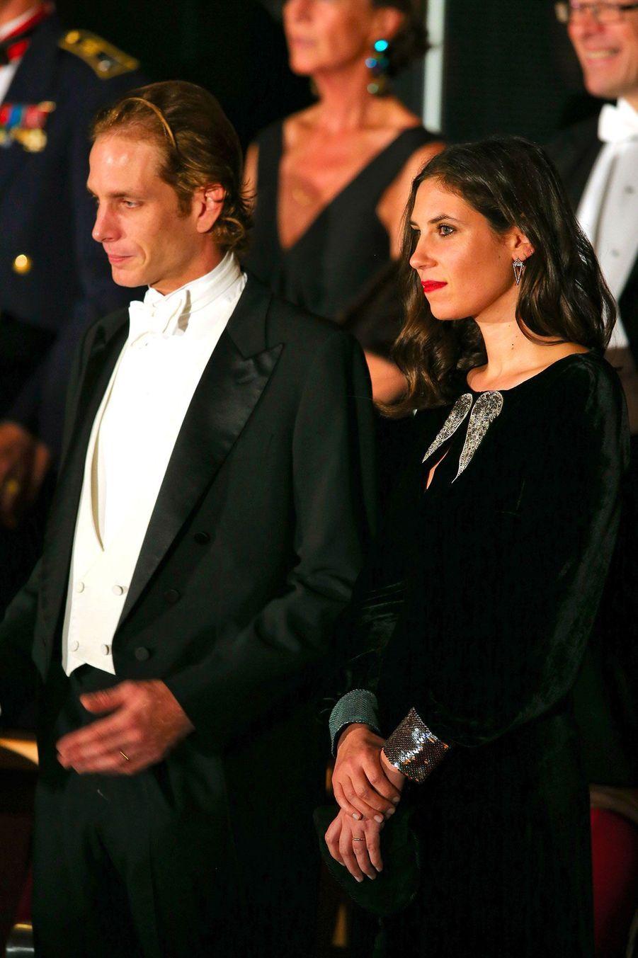Andréa Casiraghi et sa femme Tatiana Santo Domingo