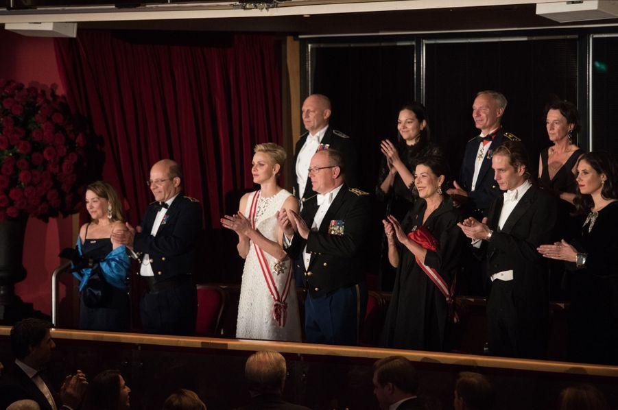 Soirée De Gala Au Grimaldi Forum Lors De La Fête Nationale De Monaco 6