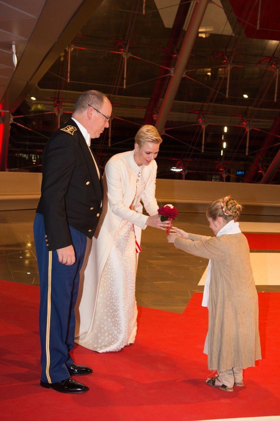 Soirée De Gala Au Grimaldi Forum Lors De La Fête Nationale De Monaco