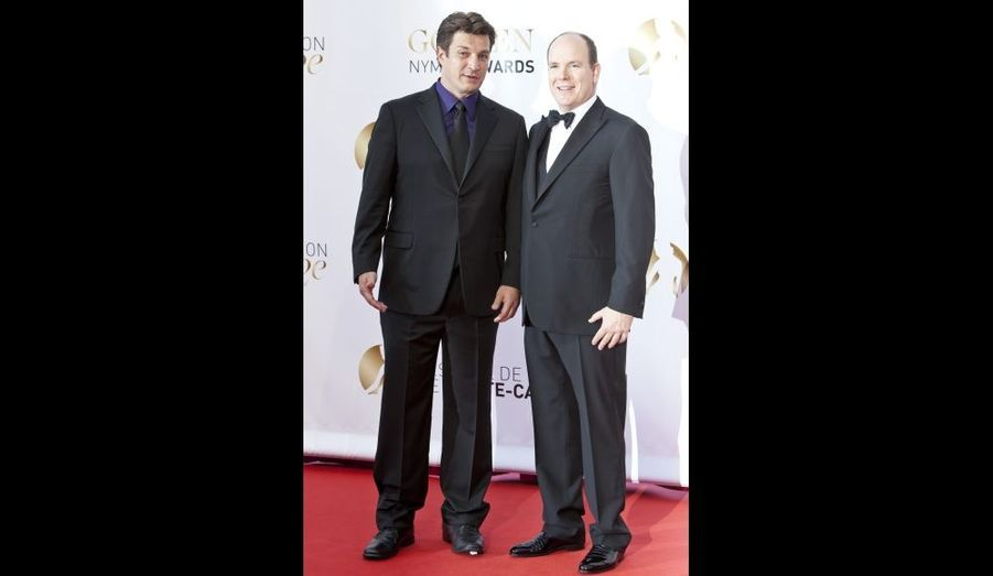 Avec Nathan Fillion, alias Richard Castle dans la série du même nom