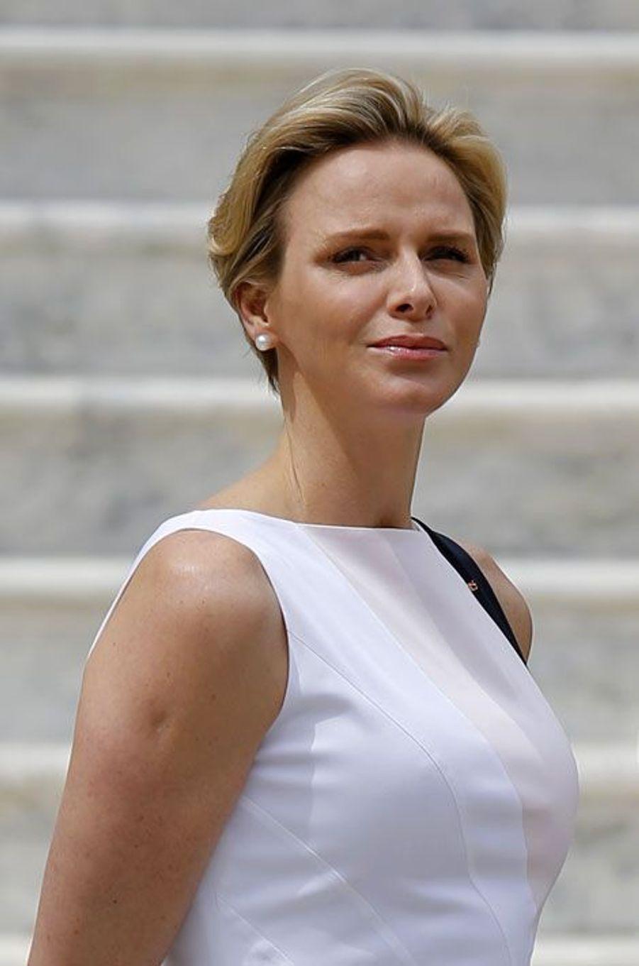 Charlène, l'élégance officielle
