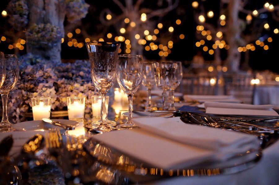 Le gala s'est déroulé dans la salle des Etoiles du Sporting Monte-Carlo, avec une décoration très soignée.