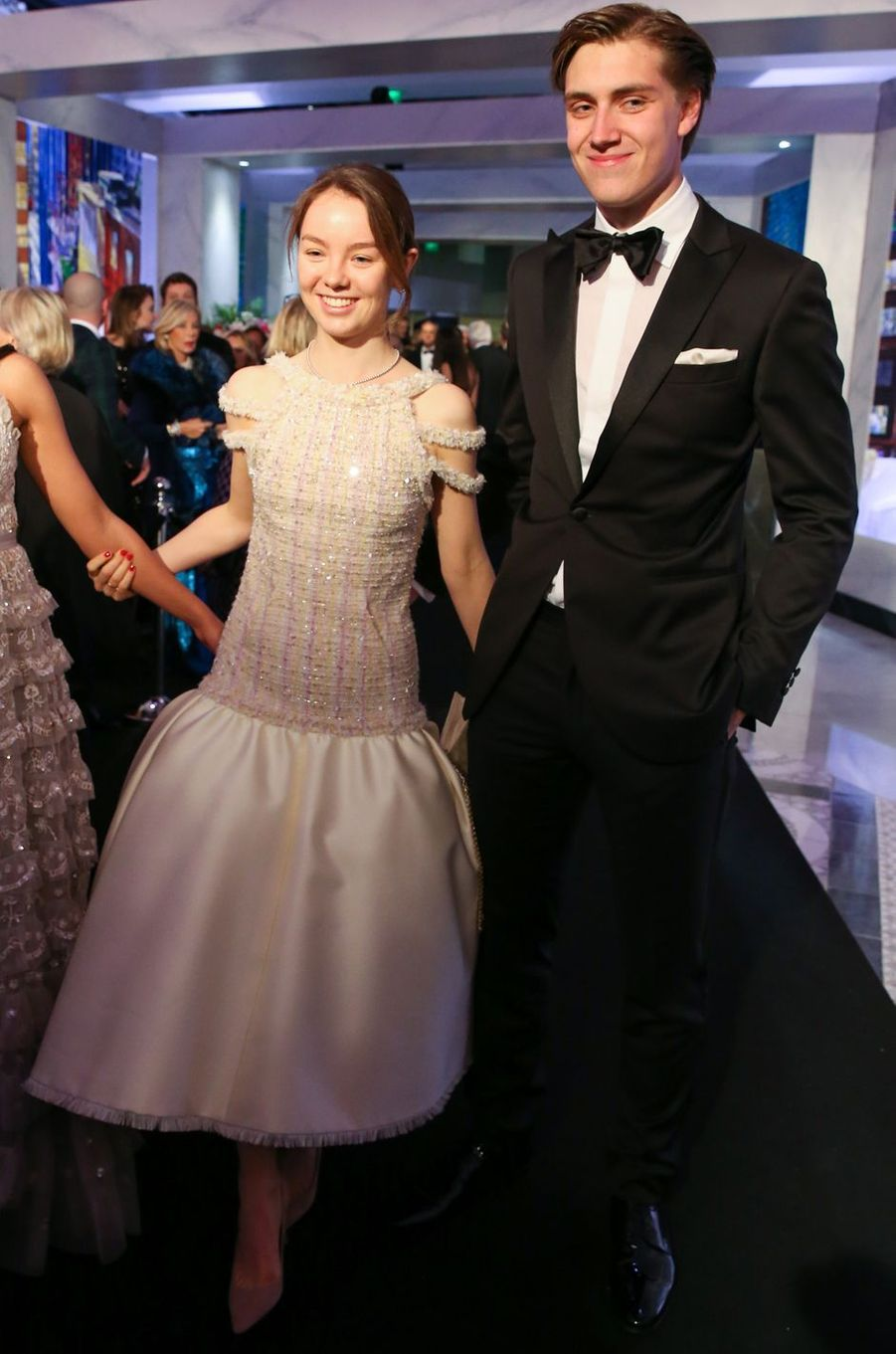 La princesse Alexandra de Hanovre en Chanel à Monaco, le 24 mars 2018