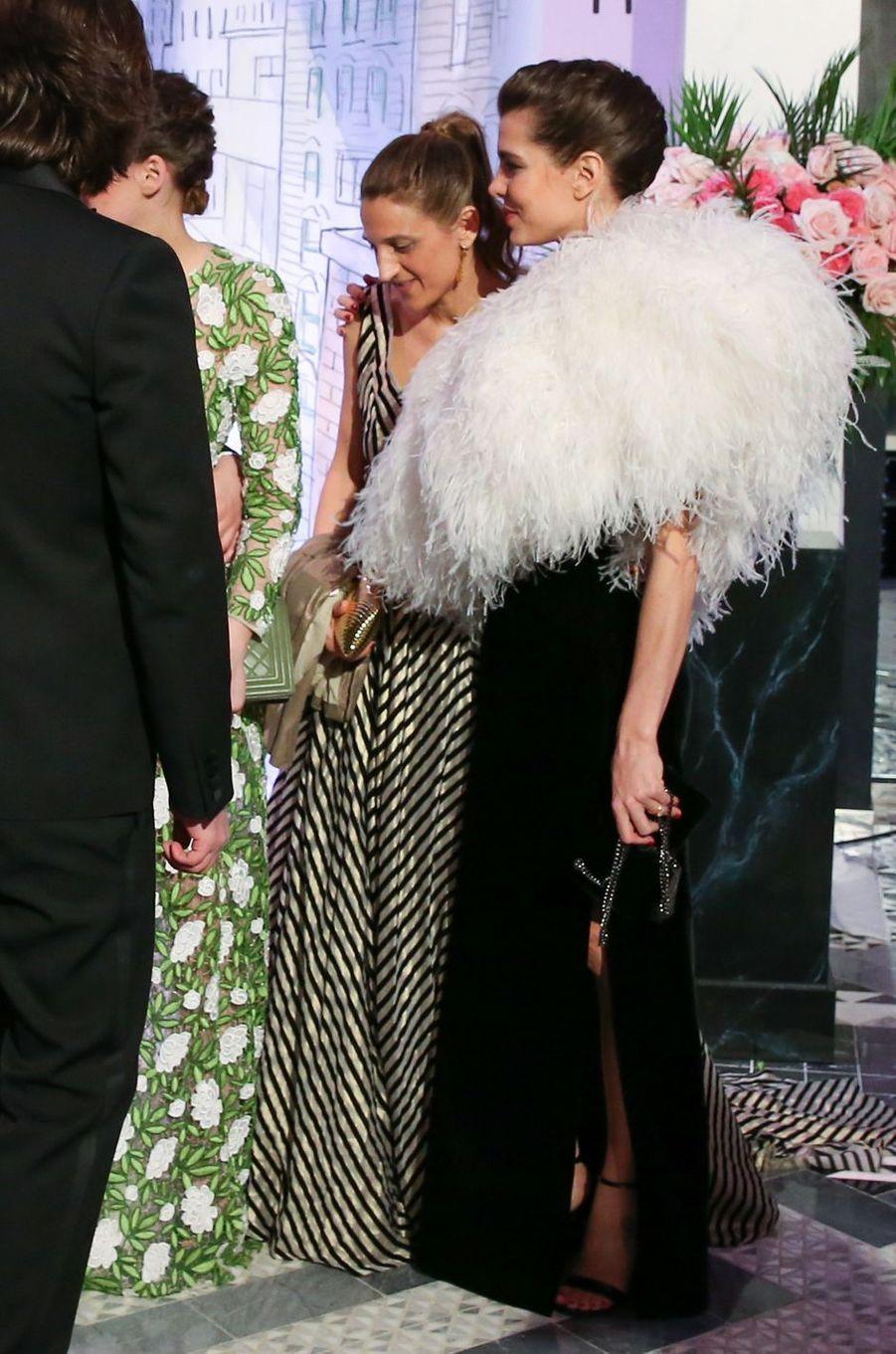 Charlotte Casiraghi à Monaco, le 24 mars 2018
