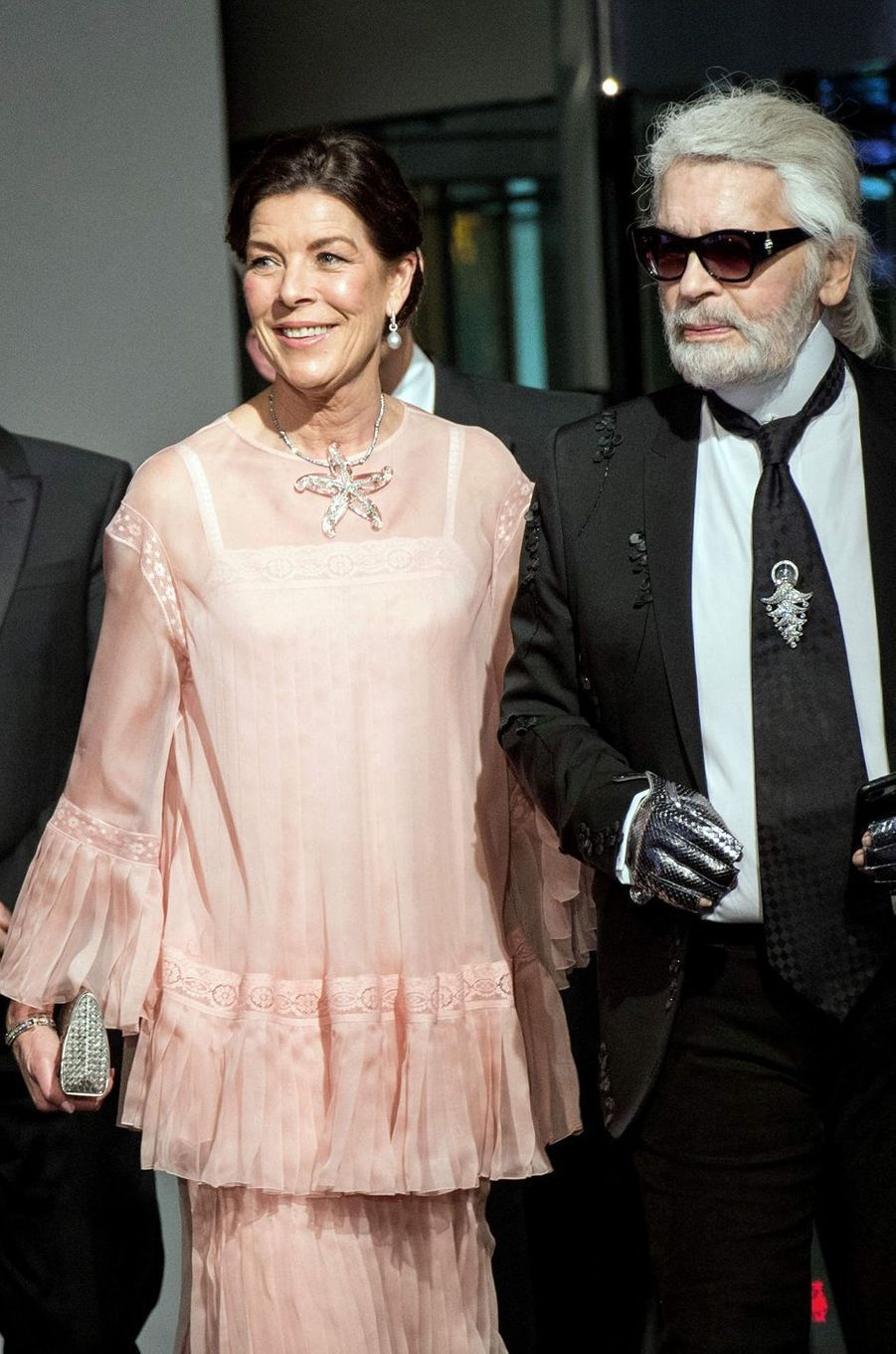 La princesse Caroline de Hanovre à Monaco, le 24 mars 2018