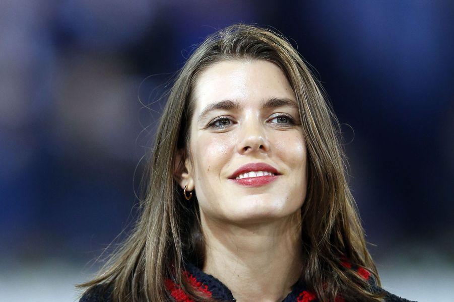 Charlotte Casiraghi au Longines Masters de Paris, le 5 décembre 2015