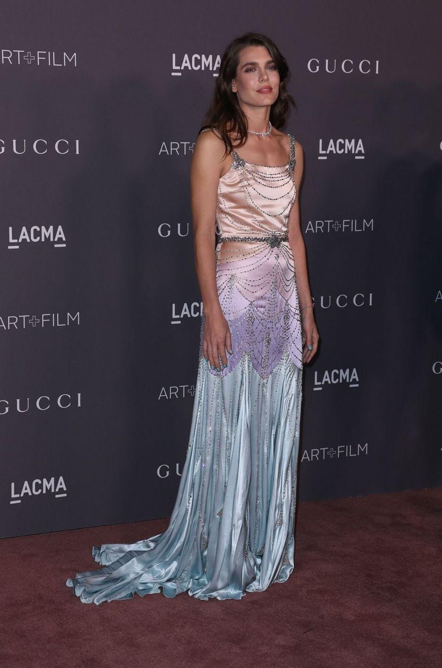 Charlotte Casiraghi à Los Angeles, le 4 novembre 2017