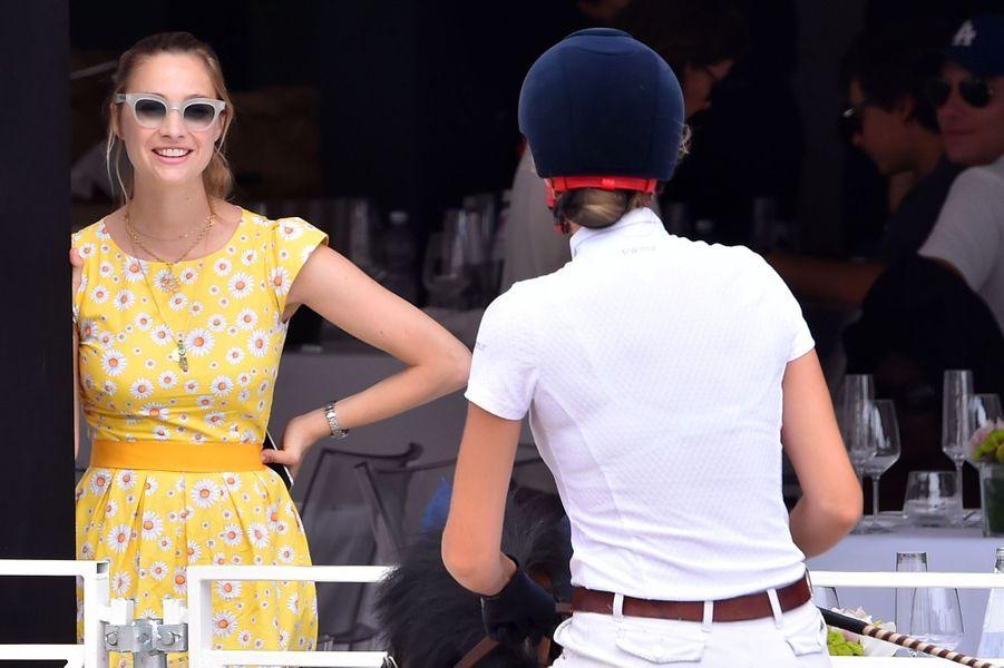 Matilde et Beatrice Borromeo à Monaco, le 23 juin 2017