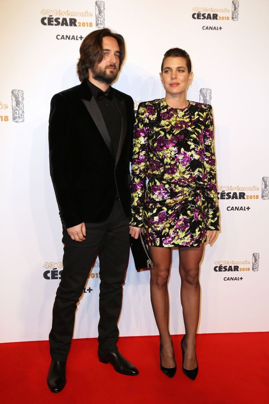 Charlotte Casiraghi Et Dimitri Rassam, En Amoureux Aux César 2018 1