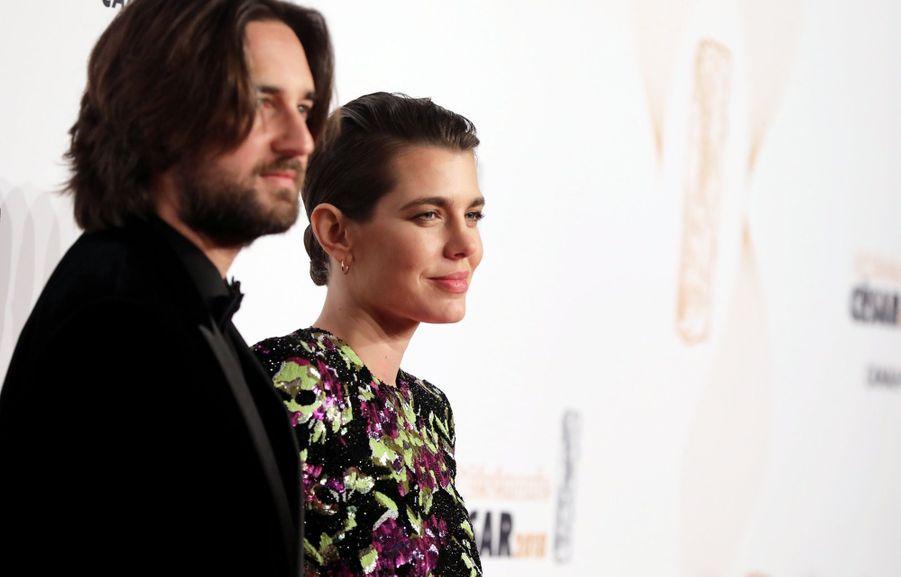 Charlotte Casiraghi Et Dimitri Rassam, En Amoureux Aux César 2018 12