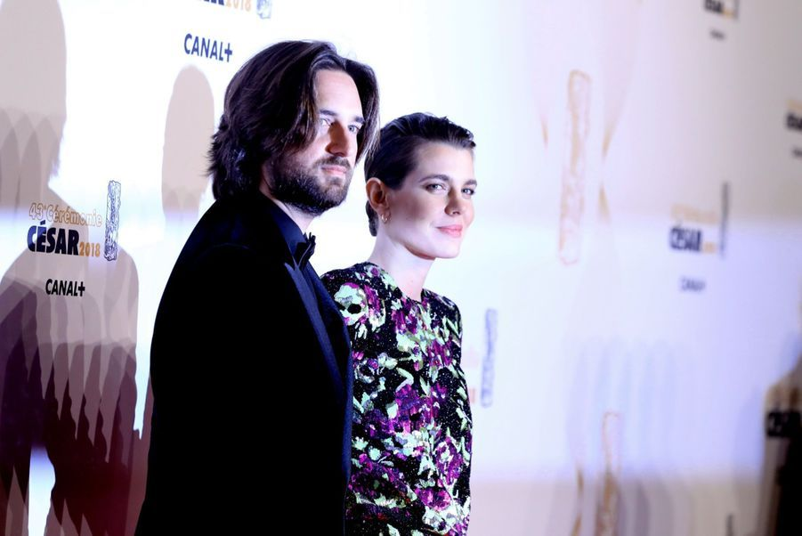 Charlotte Casiraghi Et Dimitri Rassam, En Amoureux Aux César 2018 13
