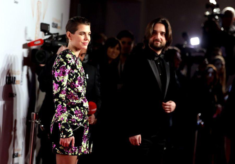 Charlotte Casiraghi Et Dimitri Rassam, En Amoureux Aux César 2018 16