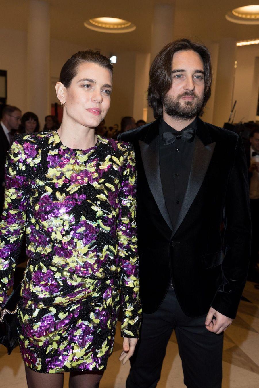 Charlotte Casiraghi Et Dimitri Rassam, En Amoureux Aux César 2018 5