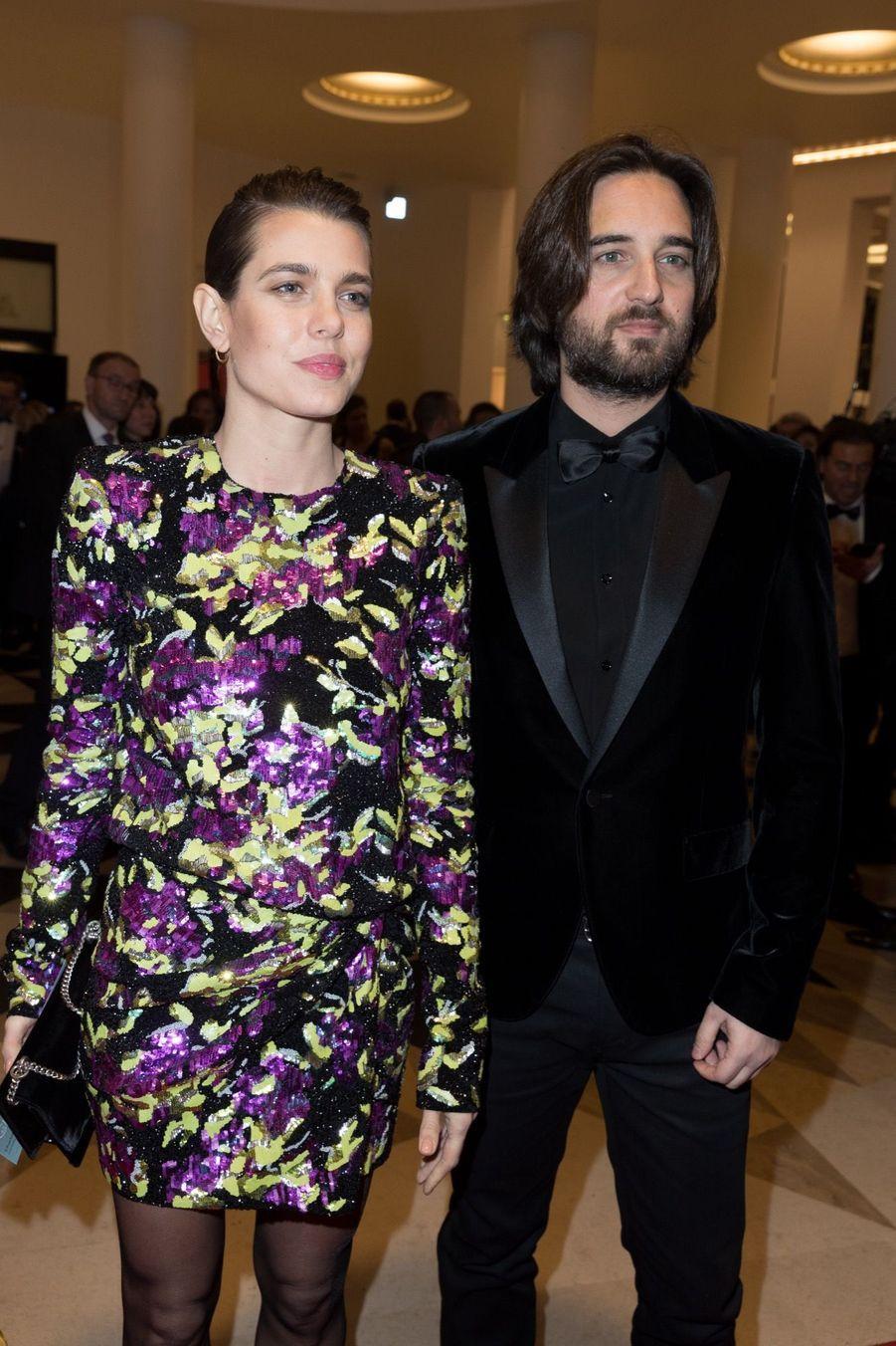 Charlotte Casiraghi Et Dimitri Rassam, En Amoureux Aux César 2018 6