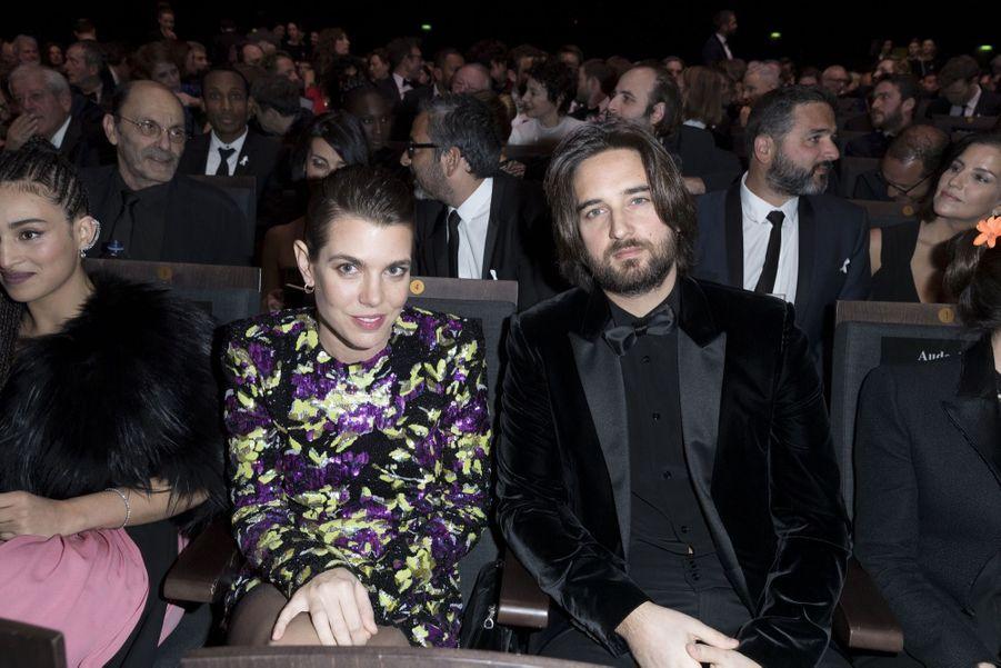 Charlotte Casiraghi Et Dimitri Rassam, En Amoureux Aux César 2018 7
