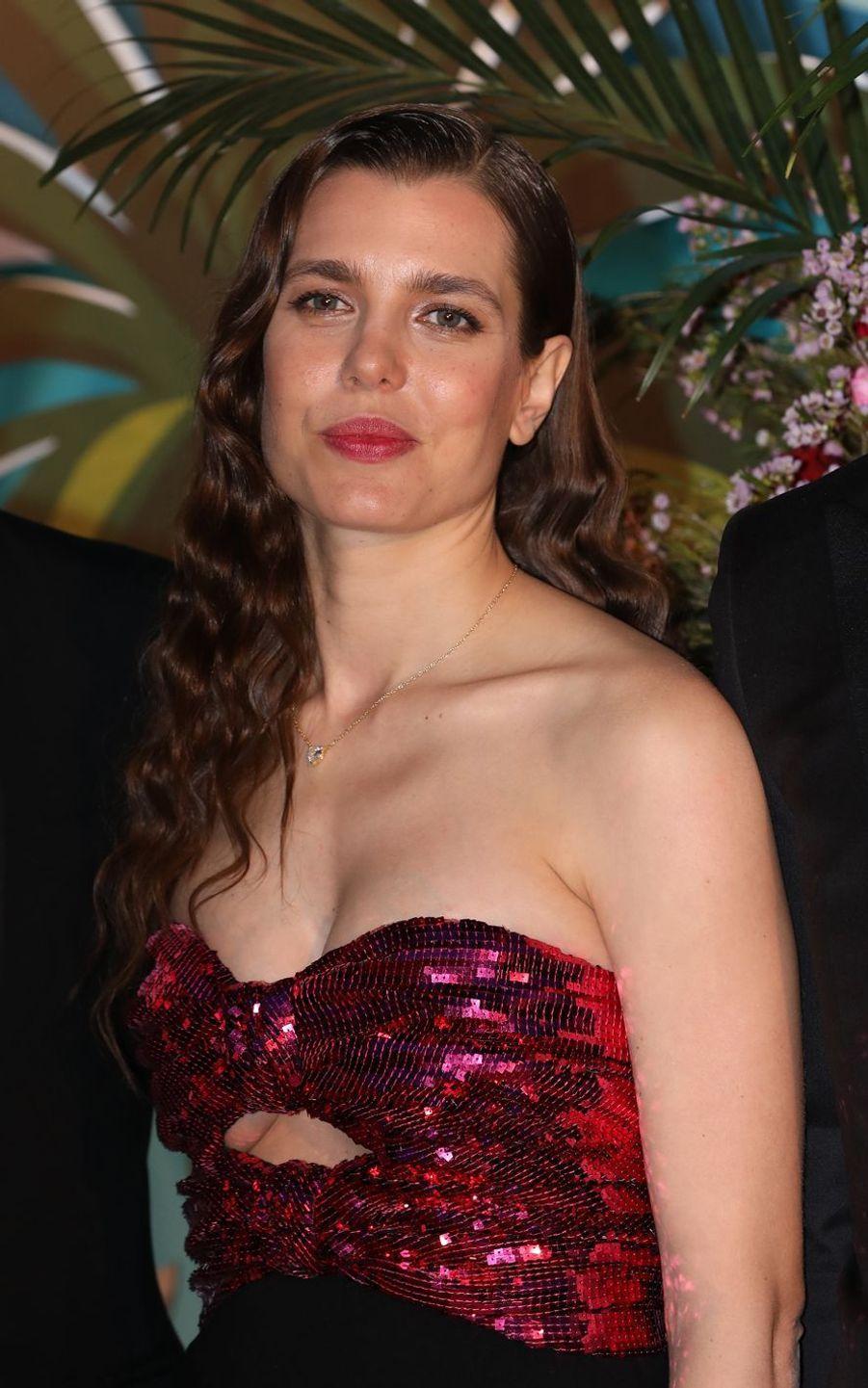 Charlotte Casiraghi à Monaco, le 30 mars 2019