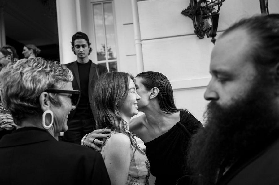 La princesse Alexandra de Hanovre et Charlotte Casiraghi à Cannes, le 16 mai 2018