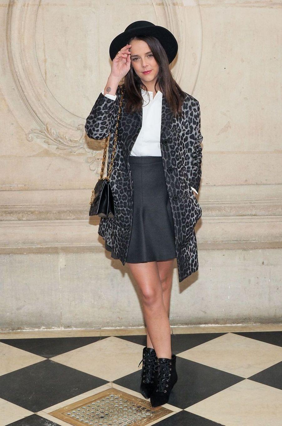 Pauline Ducruet à Paris, le 27 février 2018
